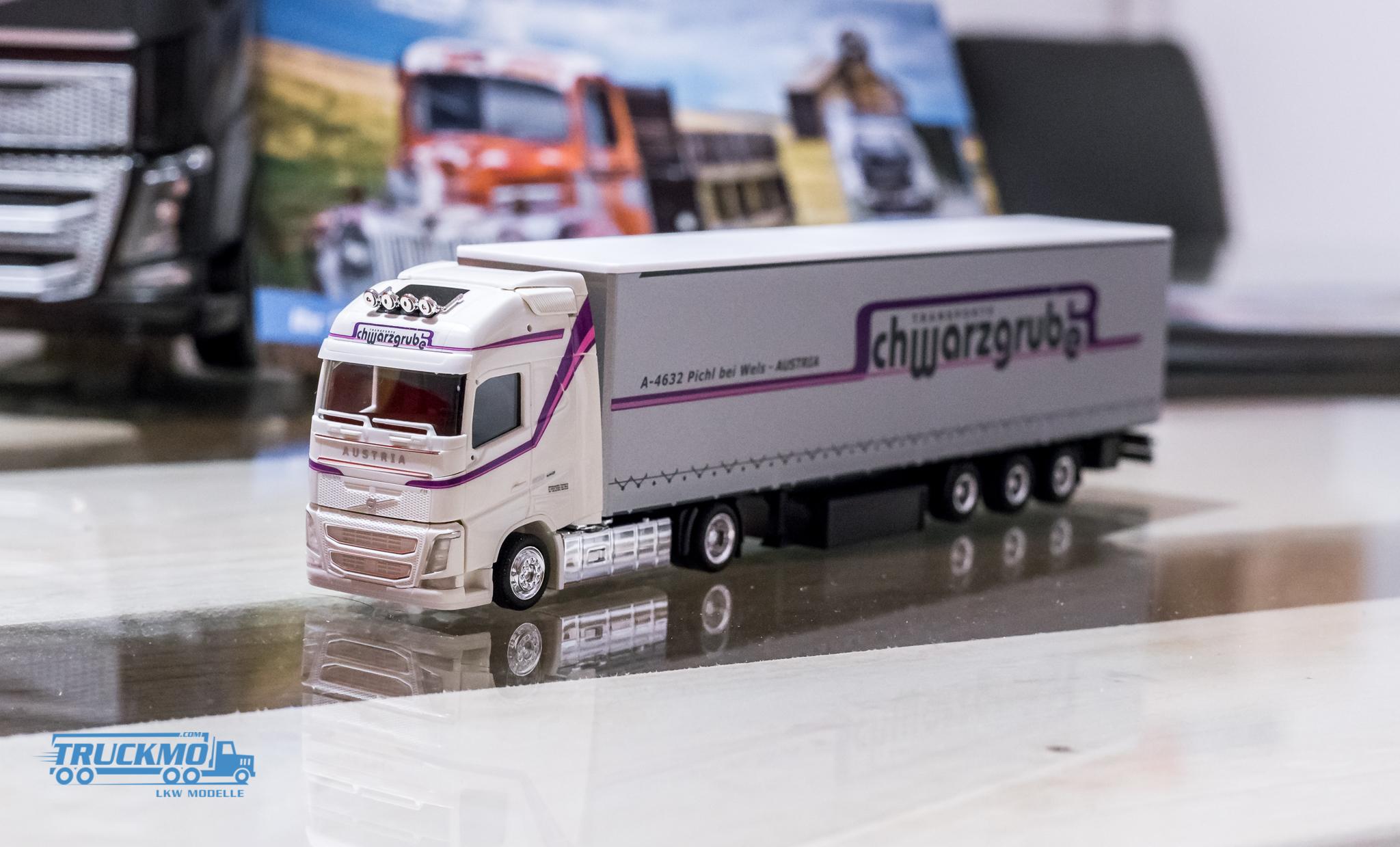 Herpa Schwarzgruber Volvo FH16 – Lkw-Modelle und Baumaschinen-Modelle Blog