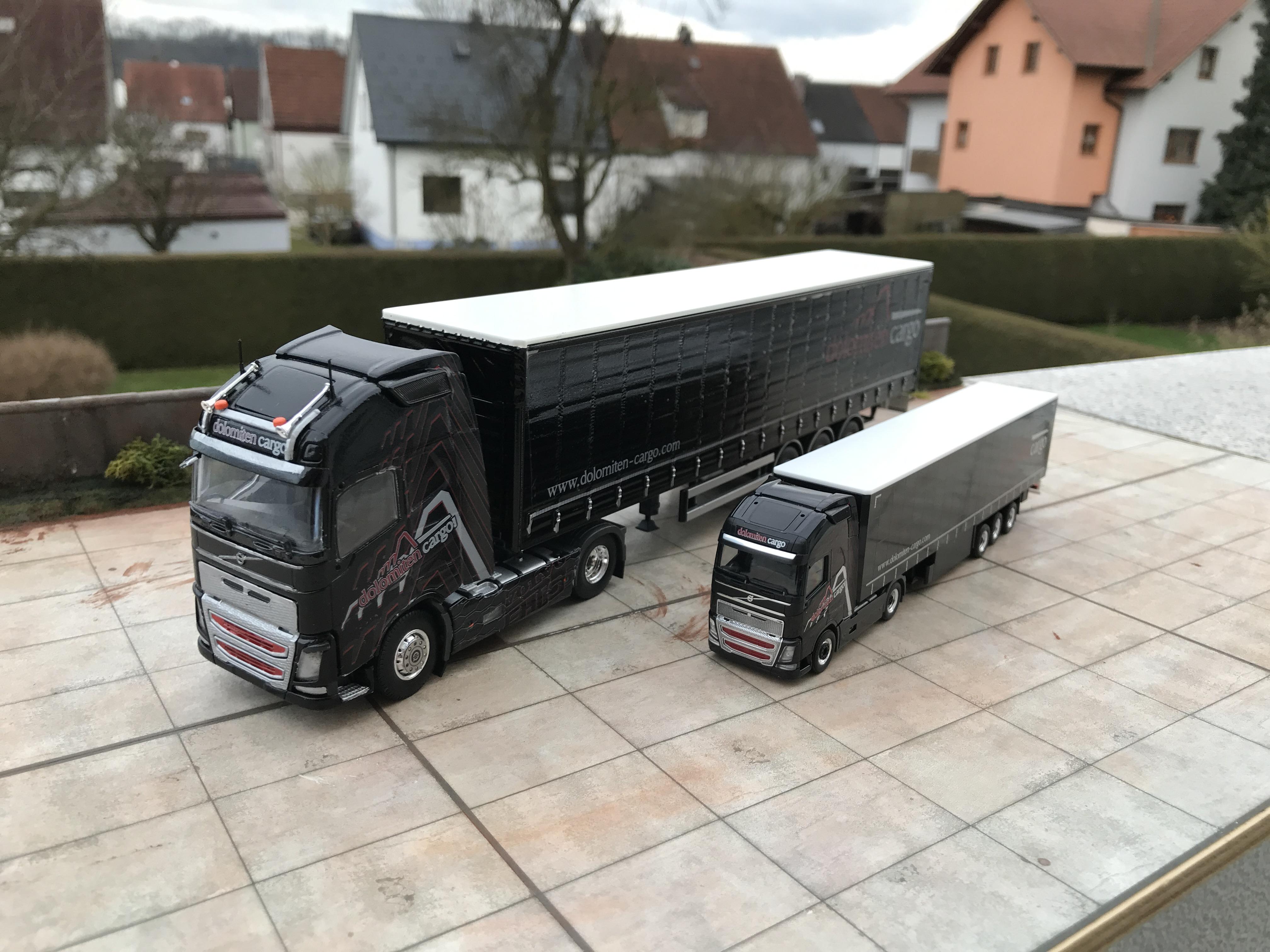 baubericht 1 50 dolomiten cargo modell lkw modelle und. Black Bedroom Furniture Sets. Home Design Ideas