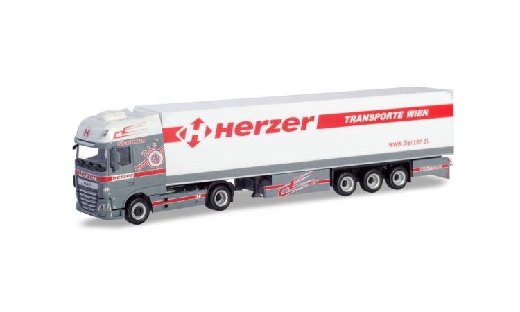 "eXtra Shop Herpa 1:87 936804 Volvo FH GL Gardinenplanen-Sattelzug /""Stelzl/"""