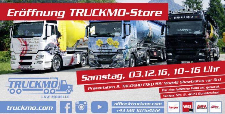 Eröffnung Truckmo Store