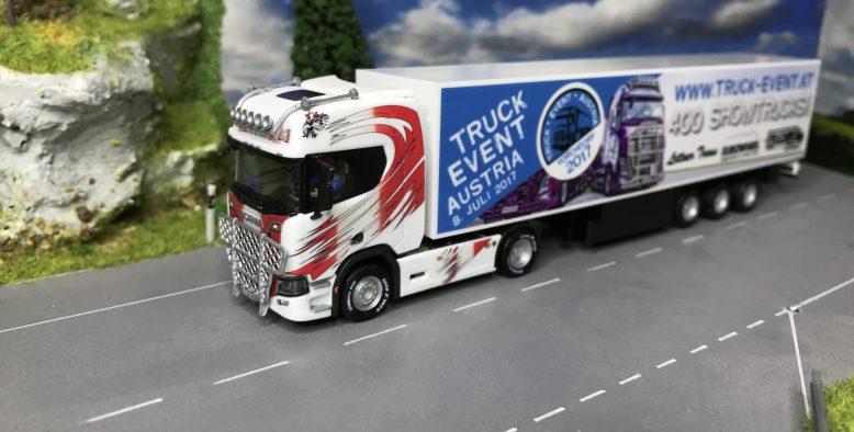 "Truckmo Sondermodell ""Truck Event Austria"" -Umbau"