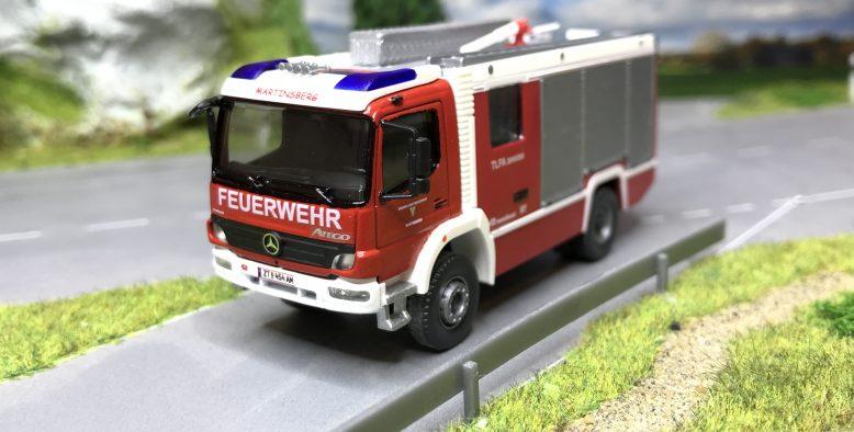 Baubericht H0 TLFA Rosenbauer