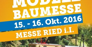 Modellbaumesse Ried 2016